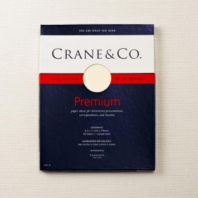 Crane & Co. Ecruwhite Executive Sheets