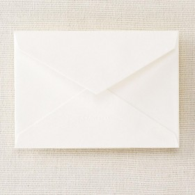 Crane & Co. Pearl White Corinne Envelope