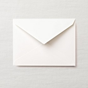 Crane & Co. Pearl White Kid Finish Kent Envelope