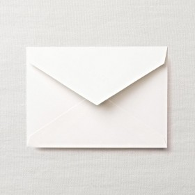 Crane & Co. Pearl White #1 Corinne Envelope