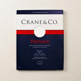 Crane & Co. Pearl White Executive Sheets