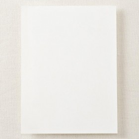 Crane & Co. Pearl White Half Sheet