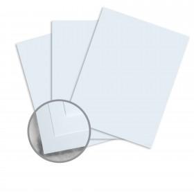 CRANE'S CREST Azure Blue Paper - 8 1/2 x 11 in 24 lb Writing Wove  100% Cotton Watermarked 500 per Ream