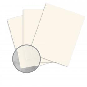 Neenah Cotton Natural White Card Stock - 26 x 40 in 110 lb Cover Smooth 100% Cotton 200 per Carton