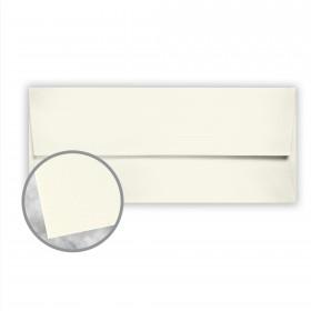 Neenah Cotton Pearl White Envelopes - No. 10 Square Flap (4 1/8 x 9 1/2) 28 lb Writing Wove  100% Cotton Watermarked 500 per Box