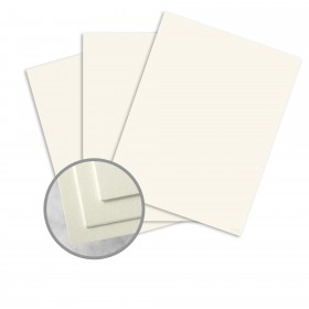 CRANE'S CREST Pearl White Paper - 25 x 38 in 80 lb Text Kid  100% Cotton 250 per Carton