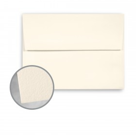 CRANE'S LETTRA Ecru White Envelopes - A2 (4 3/8 x 5 3/4) 32 lb Writing Lettra  100% Cotton 200 per Box