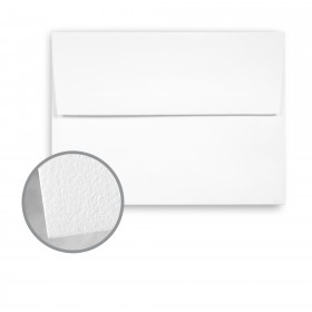 CRANE'S LETTRA Fluorescent White Envelopes - A6 (4 3/4 x 6 1/2) 32 lb Writing Lettra  100% Cotton 200 per Box