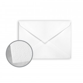 CRANE'S LETTRA Fluorescent White Envelopes - No. 4 Baronial (3 5/8 x 5 1/8) 32 lb Writing Lettra  100% Cotton 200 per Box
