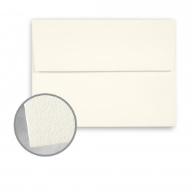 CRANE'S LETTRA Pearl White Envelopes - A6 (4 3/4 x 6 1/2) 32 lb Writing Lettra  100% Cotton 200 per Box