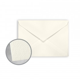 CRANE'S LETTRA Pearl White Envelopes - No. 4 Baronial (3 5/8 x 5 1/8) 32 lb Writing Lettra  100% Cotton 200 per Box