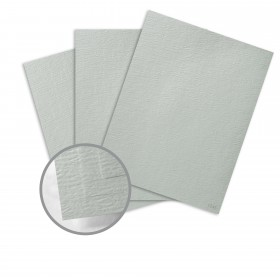 Ruche Grey Cardstock - 28 x 40 in 100 lb Cover Crepe  80% Recycled 125 per Carton