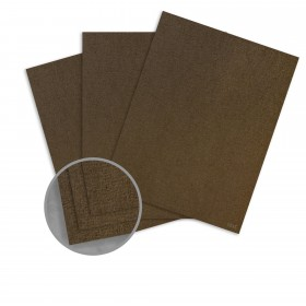 Ruche Natural Card Stock - 8 1/2 x 11 in 170 lb Cover DT Crepe 100% Recycled 75 per Package