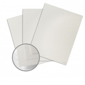 Ruche White Cardstock - 28 x 40 in 170 lb Cover DT Crepe  80% Recycled 75 per Carton
