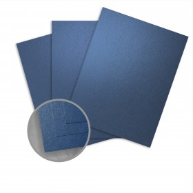 Curious Metallics Blueprint Card Stock - 8 1/2 x 11 in 111 lb Cover Metallic C/2S 100 per Package