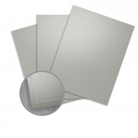 Curious Metallics Galvanised Card Stock - 27 1/2 x 39 3/8 in 92 lb Cover Metallic C/2S 100 per Package