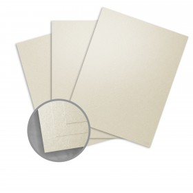 Curious Metallics Lustre Card Stock - 27 1/2 x 39 3/8 in 111 lb Cover Metallic C/2S 100 per Package