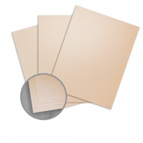 Curious Metallics Nude Paper - 8 1/2 x 11 in 80 lb Text Metallic C/2S 250 per Package