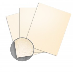 Curious Metallics Poison Ivory Paper - 8 1/2 x 11 in 80 lb Text Metallic C/2S 250 per Package