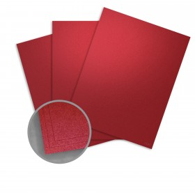 Curious Metallics Red Lacquer Paper - 27 1/2 x 39 3/8 in 80 lb Text Metallic C/2S 250 per Package