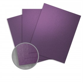 Curious Metallics Violette Paper - 27 1/2 x 39 3/8 in 80 lb Text Metallic C/2S 250 per Package