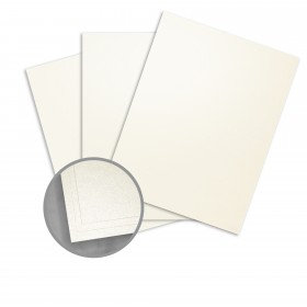 Curious Metallics Virtual Pearl Card Stock - 27 1/2 x 39 3/8 in 89 lb Cover Metallic C/2S 125 per Package