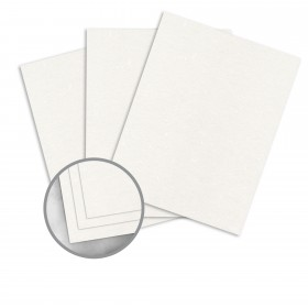 Curious Particles Snow 100% PCRF Card Stock - 27 1/2 x 39 3/8 in 92 lb Cover Particles  100% Recycled 100 per Package