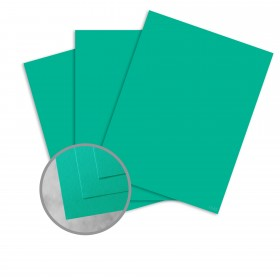 Curious Skin Emerald Paper - 8 1/2 x 11 in 91 lb Text Skin 200 per Package