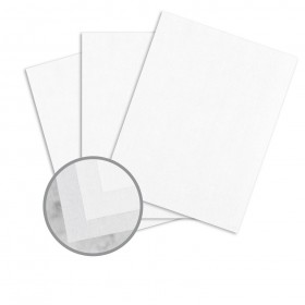 Durilla Durable Papers Premium Ice Card Stock - 8 1/2 x 11 in 96 lb Cover Translucent Vellum 250 per Package