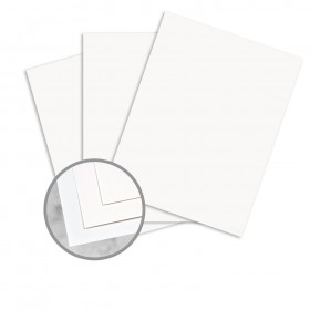 Durilla Durable Papers Premium White Paper - 8 1/2 x 11 in 68 lb Cover Extra Smooth 500 per Package