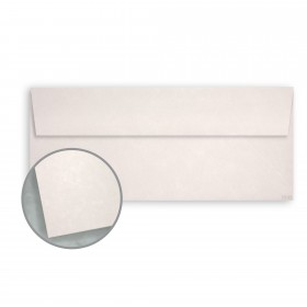 Dur-O-Tone Butcher White Envelopes - No. 10 Square Flap (4 1/8 x 9 1/2) 60 lb Text Smooth  100% Recycled 500 per Box