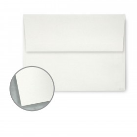 Dur-O-Tone Newsprint Extra White Envelopes - A7 (5 1/4 x 7 1/4) 70 lb Text Smooth  100% Recycled 250 per Box