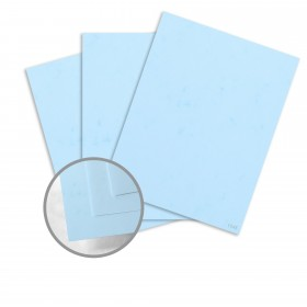 Dur-O-Tone Butcher Extra Blue Card Stock - 26 x 40 in 80 lb Cover Smooth  100% Recycled 500 per Carton