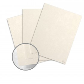 Dur-O-Tone Butcher Off White Card Stock - 26 x 40 in 80 lb Cover Smooth  100% Recycled 500 per Carton