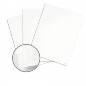 Dur-O-Tone Newsprint Extra White Card Stock - 26 x 40 in 80 lb Cover Smooth  100% Recycled 500 per Carton