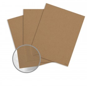 Dur-O-Tone Packing Brown Wrap Card Stock - 26 x 40 in 80 lb Cover Smooth 100% Recycled 500 per Carton