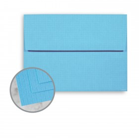 EAMES Furniture Pacific Blue Envelopes - A7 (5 1/4 x 7 1/4) 80 lb Text Weave  30% Recycled 250 per Box