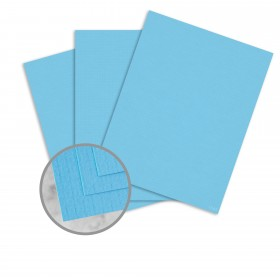 EAMES Furniture Pacific Blue Paper - 8 1/2 x 11 in 80 lb Text Weave  30% Recycled 250 per Package