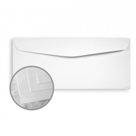 EAMES Painting Eames Solar White Envelopes - No. 10 Commercial (4 1/8 x 9 1/2) 80 lb Text Canvas  30% Recycled 500 per Box