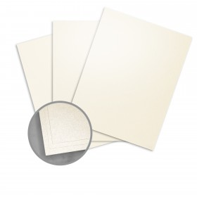 Elan Metallics Champagne Card Stock - 8 1/2 x 11 in 107 lb Cover Metallic C/2S 25 per Package