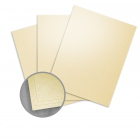 Elan Metallics Gold Paper - 12 x 12 in 80 lb Text Metallic C/2S 25 per Package