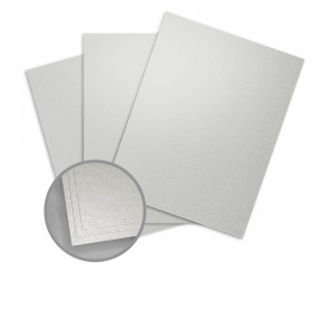 Elan Metallics Pewter Paper - 8 1/2 x 11 in 80 lb Text Metallic C/2S 250 per Package