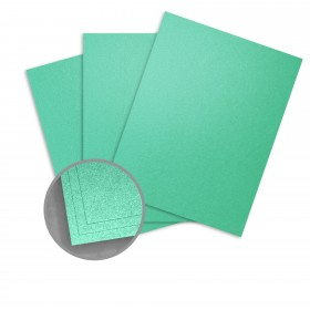 Elan Metallics Photon Green Paper - 12 x 12 in 70 lb Text Metallic C/2S 25 per Package