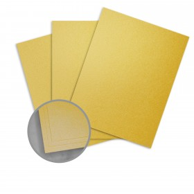Elan Metallics Pyrite Paper - 8 1/2 x 11 in 80 lb Text Metallic C/2S 25 per Package
