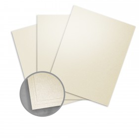 Elan Metallics Warm Dust Paper - 8 1/2 x 11 in 80 lb Text Metallic C/2S 25 per Package