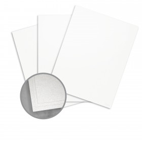 Elan Metallics White Quartz Paper - 12 x 12 in 80 lb Text Metallic C/2S 250 per Package