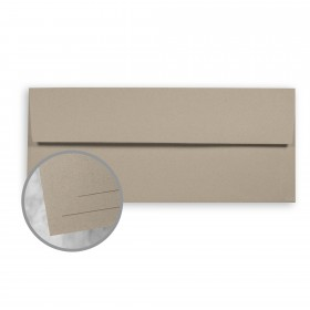 ENVIRONMENT Concrete Envelopes - No. 10 Square Flap (4 1/8 x 9 1/2) 70 lb Text Raw  30% Recycled 500 per Box