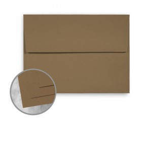 ENVIRONMENT Grocer Kraft Envelopes - A9 (5 3/4 x 8 3/4) 70 lb Text Raw  30% Recycled 250 per Box