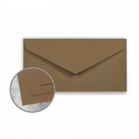 ENVIRONMENT Grocer Kraft Envelopes - Monarch (3 7/8 x 7 1/2) 70 lb Text Raw  30% Recycled 500 per Box
