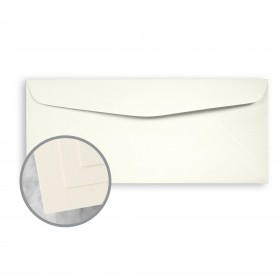 ENVIRONMENT Natural White Envelopes - No. 10 Commercial (4 1/8 x 9 1/2) 80 lb Text Smooth  30% Recycled 500 per Box